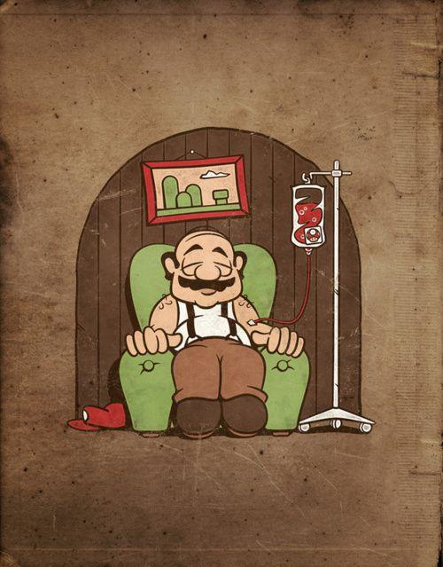 #Mario's retirement