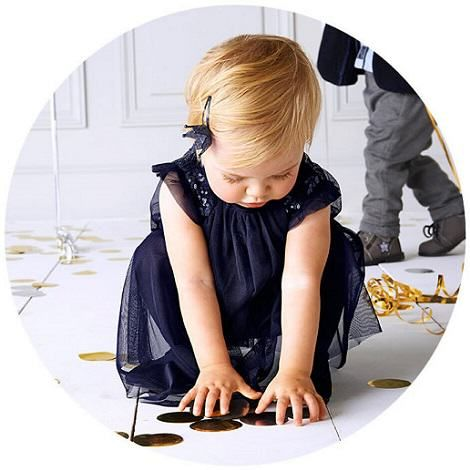 02e9f9343e454 Look de fête bébé fille - Lookbook Tape à l Oeil Tenue Noel
