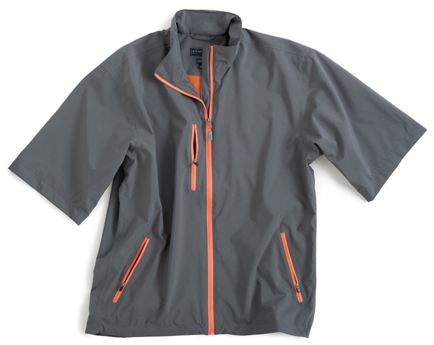 Toronto Short Sleeve Waterproof Rain Jacket - Element 4