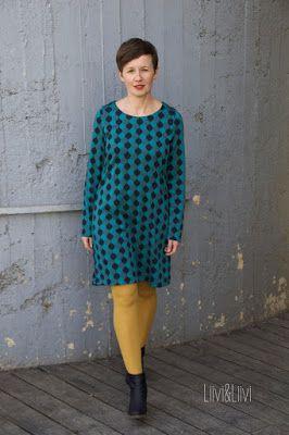 Kleid Aus Dem Buch Alles Jersey Von Leni Pepunkt Kleid Mit Armel Bundchen Annahen Kleider