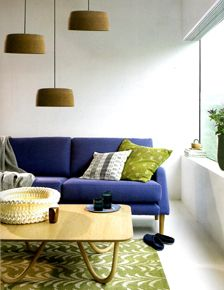 My Chip Shade lamps were featured in October 2011 issue of ELLE Decoration Magazine 'best buys'.