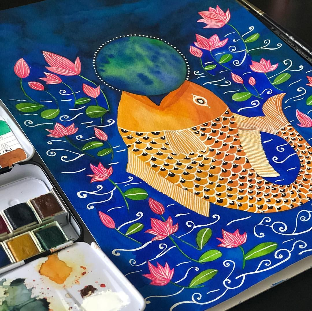 Matsya In Sanskrit Meaning Fish Holding Mother Earth