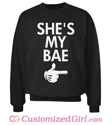 Custom #MatchingCouples sweaters from Customized Girl