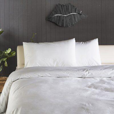 Orren Ellis Caruthers Plain Turkish Cotton Duvet Cover Set Duvet