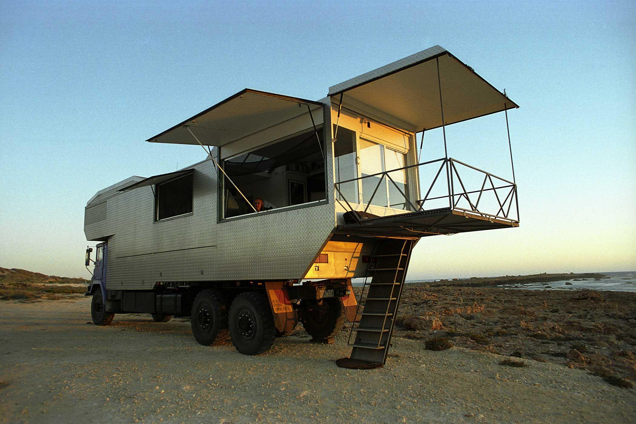 Unimog Camper For Sale >> It's Australia's Weirdest Off-Road Motorhome! via Motornomadics.com | Nomadic Art & Design ...