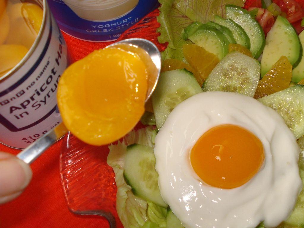 Apricot and yoghurt salad egg - InfoBarrel Images