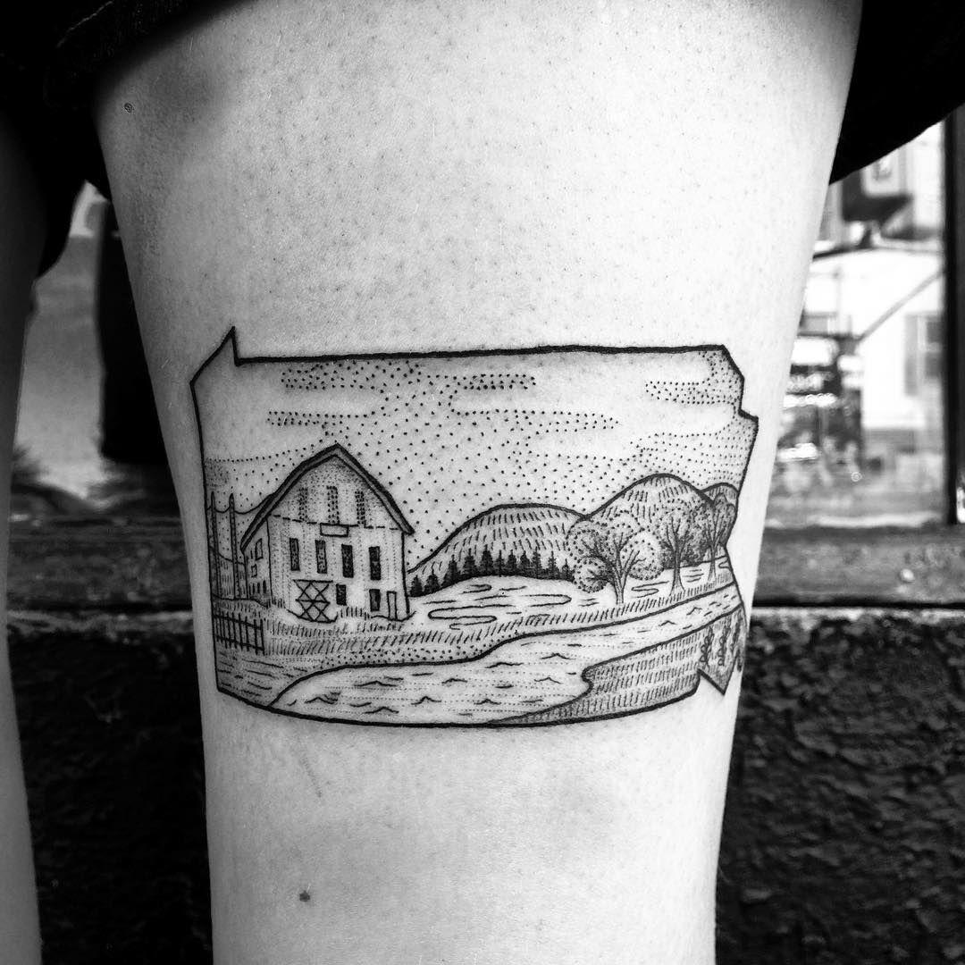 pennsylvania by anka lavriv tattoos