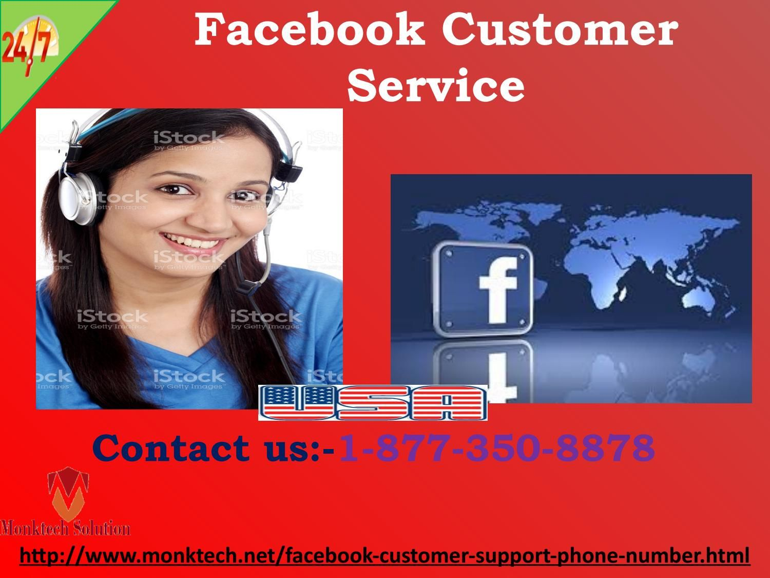 How can I fix spam messages issue via Facebook Customer