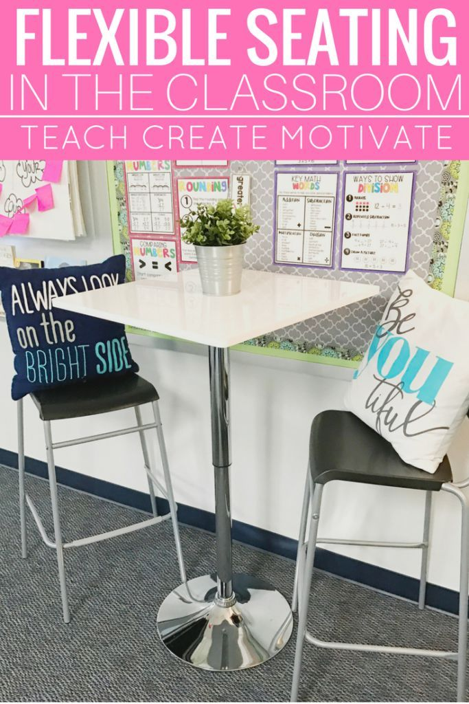 Flexible Seating In The Classroom Classroom Resources Pinterest