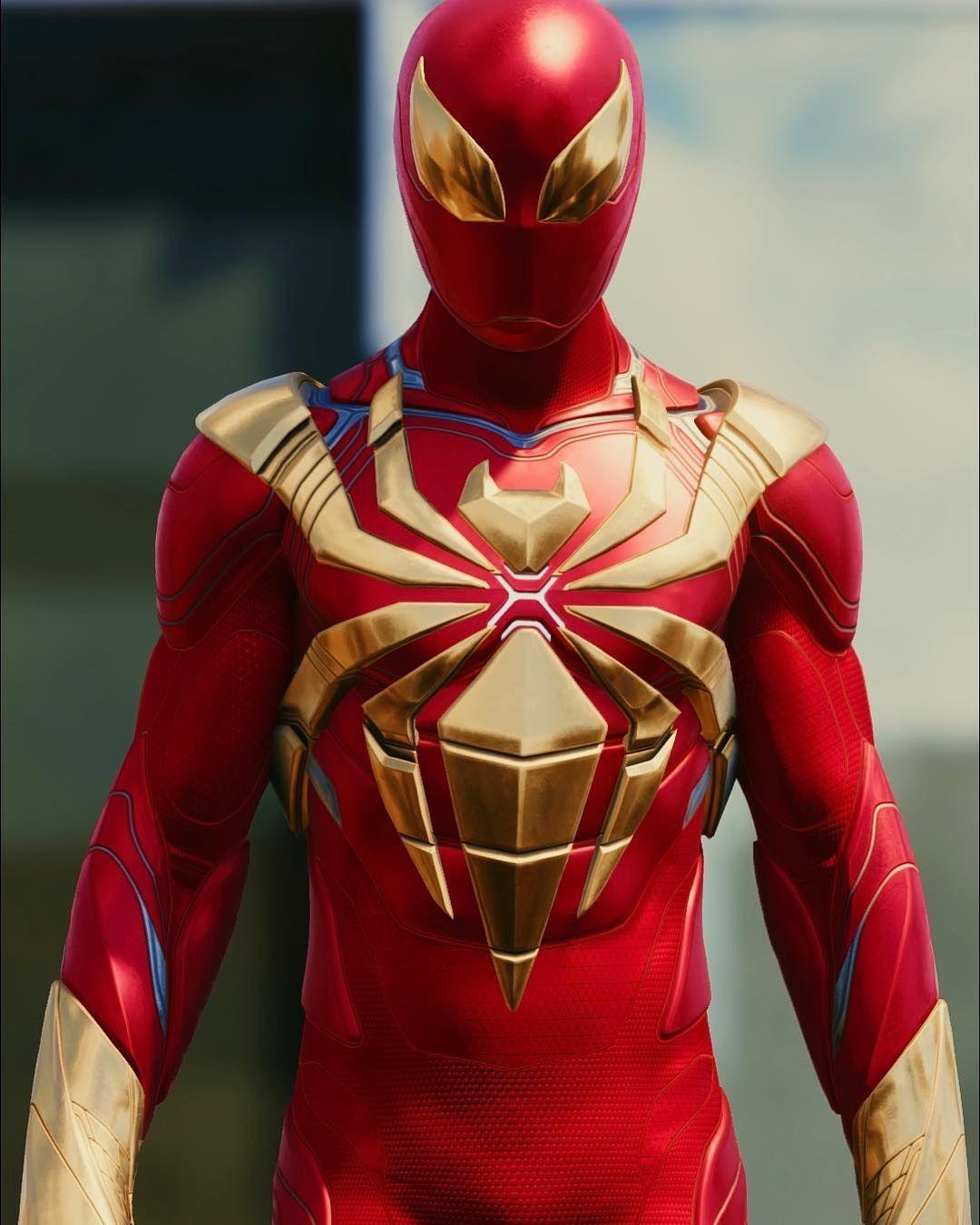 Spidey Suit Series The Original Iron Spider
