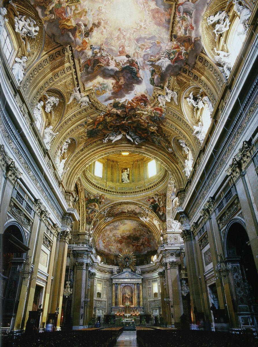 Il Ges 249 Rome By Giacomo Or Jacopo Barozzi Da Vignola