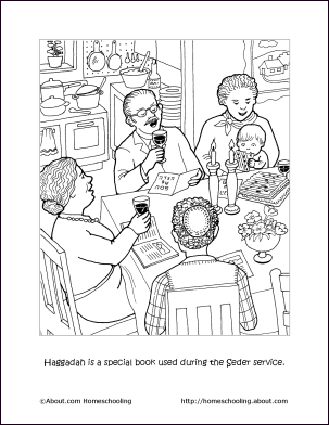 passover printables passover coloring page haggadah