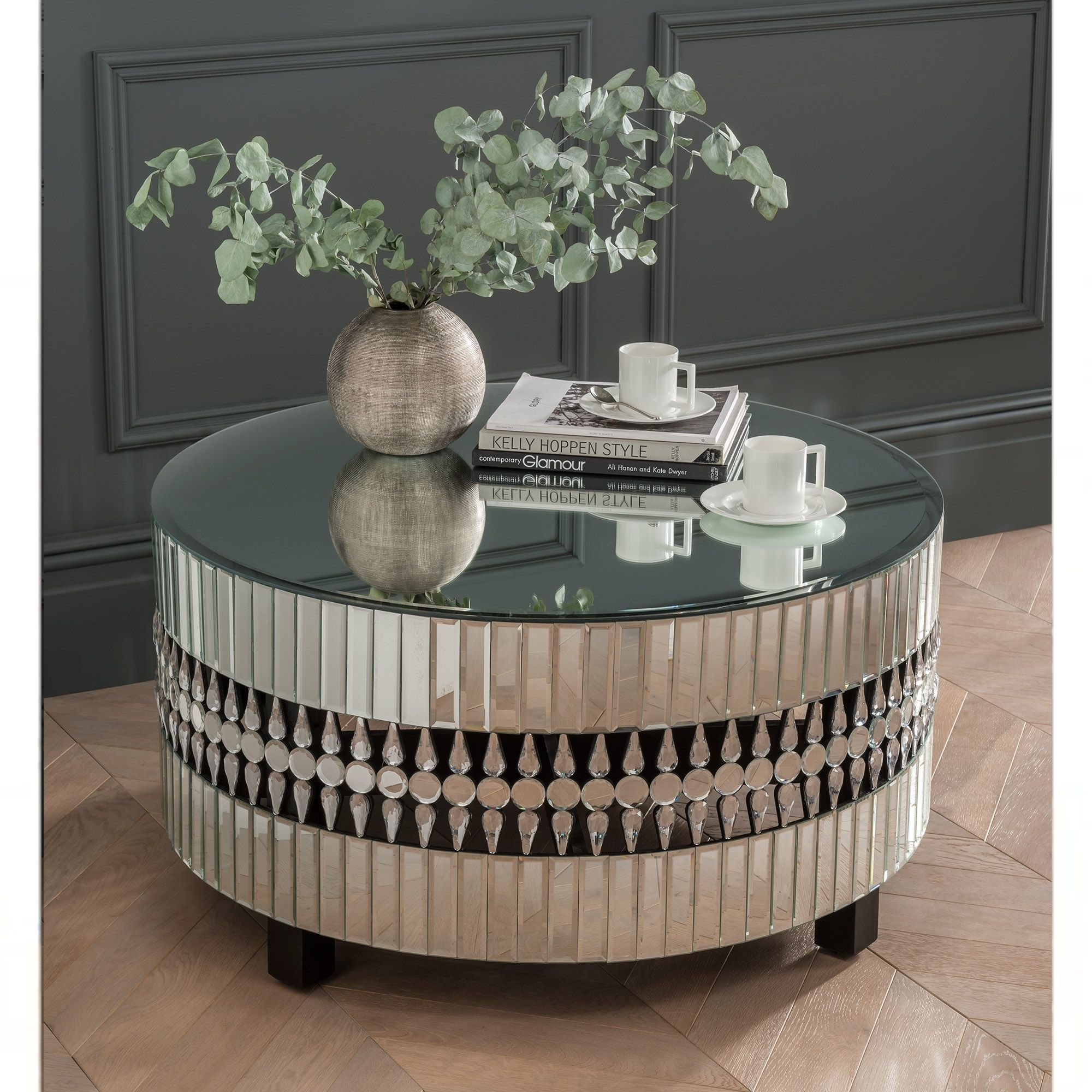 Crystal Mirrored Coffee Table Mirrored Coffee Tables Coffee Table Mirrored Sideboard [ jpg ]