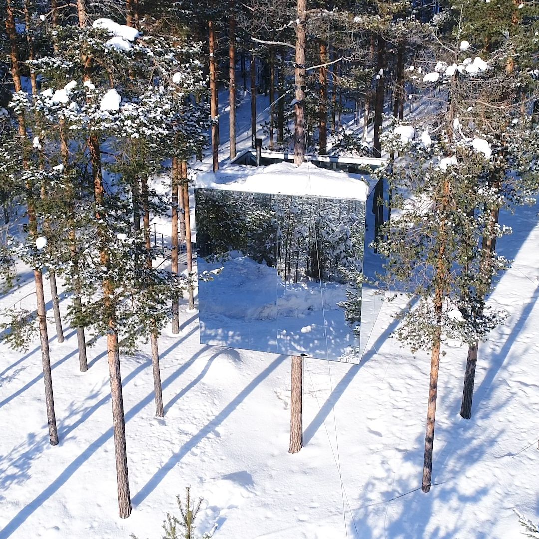 All seven of these Swedish treehouses are nothing short of epic.