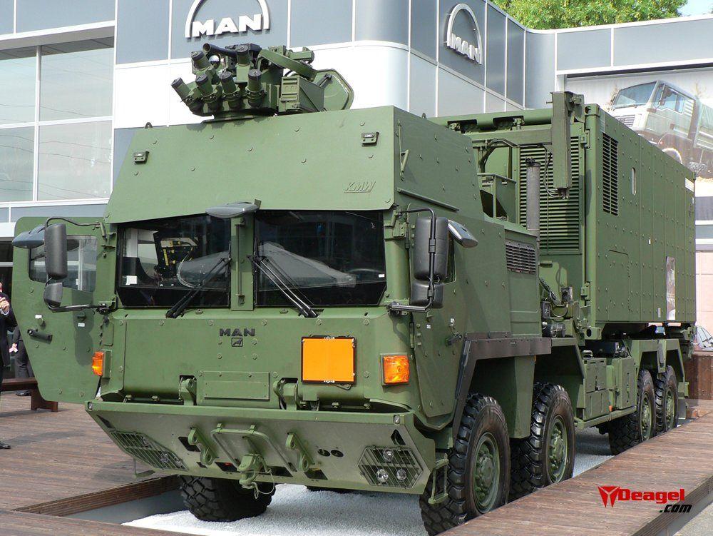 MAN SX IAC (Military vehicles) history, photos, PDF