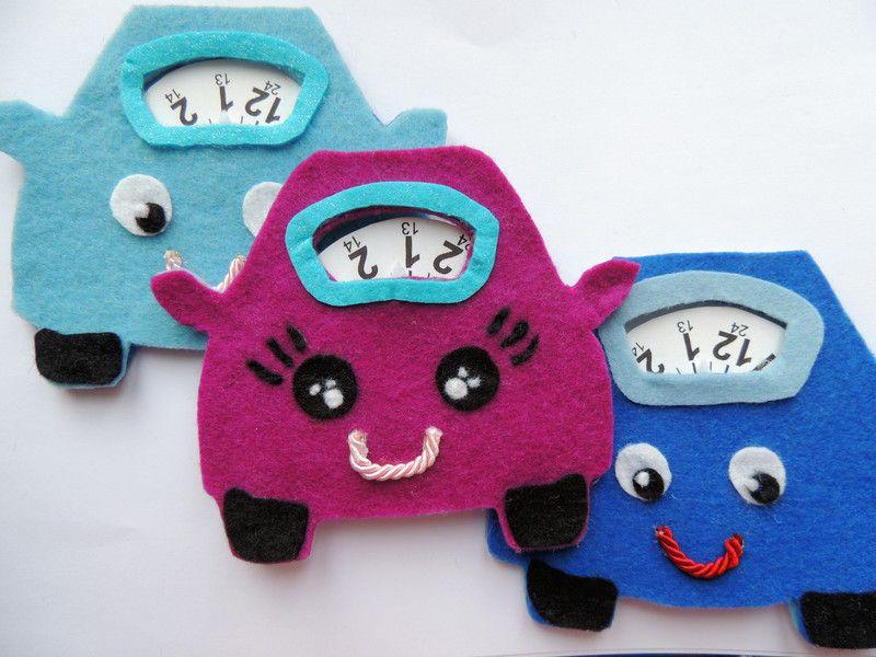 Accessori per l'auto.. il disco orario! di I Felt YOU su DaWanda.com