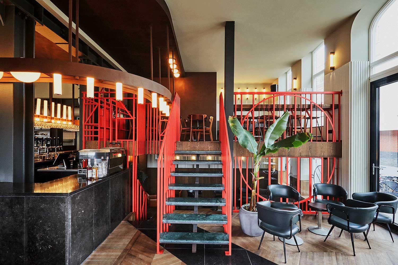 Holy Smoke In Rotterdam By Studio Modijefsky Smoke Bar Smoke Restaurant Restaurant Facade