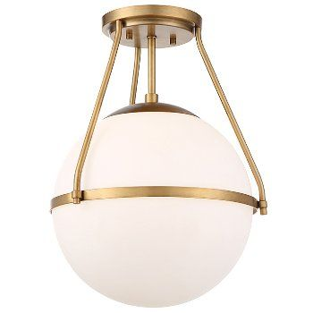 Kerry Semi-Flushmount by Alder and Ore at Lumens.com