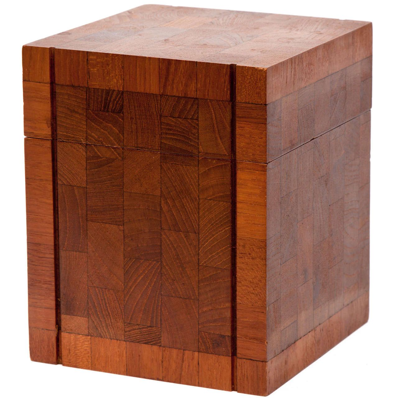 1960s Teak Humidor by Dunhill | From a unique collection of antique and modern tobacco accessories at https://www.1stdibs.com/furniture/more-furniture-collectibles/tobacco-accessories/