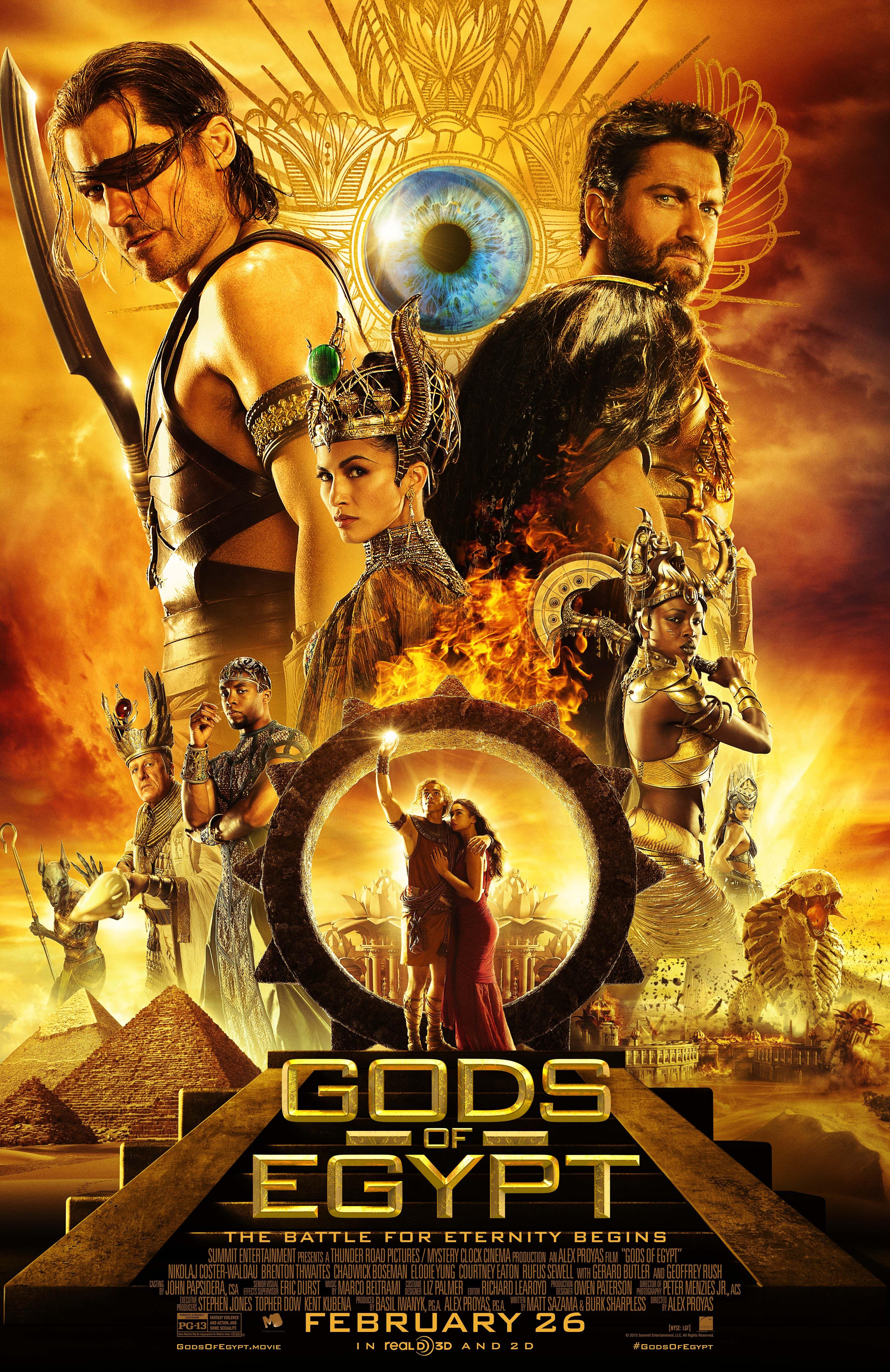 Gods Of Egypt 2016 With Images Egypt Movie Gods Of Egypt