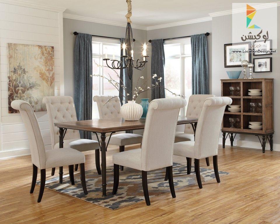 بالصور احدث افكار ديكورات غرف سفرة مودرن 2017 2018 لوكشين ديزين نت Luxury Dining Room Elegant Dining Room Dining Room Table Set