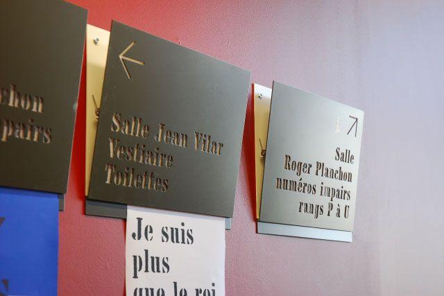 Super Signalétique du Grand et du Petit Théâtre du TNP | Sceno  AB98