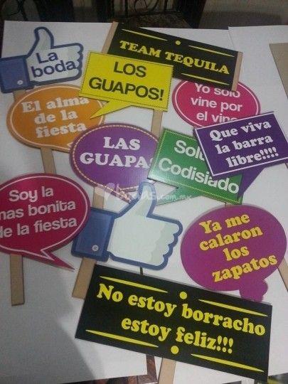 Letreros fiesta de decorativo lob foto 1 letros para - Ideas 18 cumpleanos chico ...