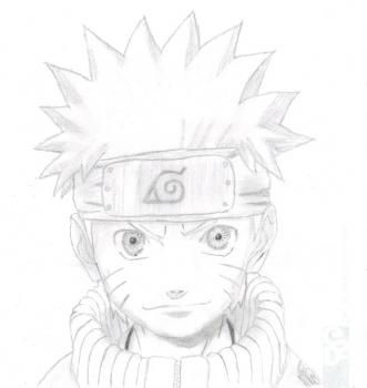 how to draw naruto step by step slowly