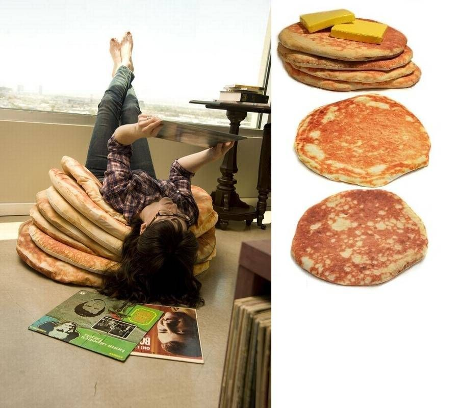 I never knew I a pancake floor pillow shaped hole in my life, and ...
