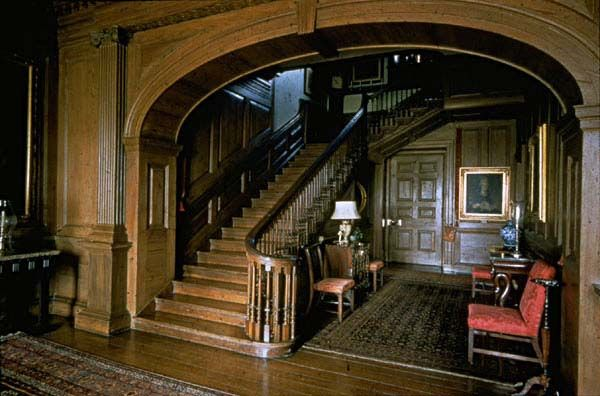 Carter's Grove, fantastic staircase!
