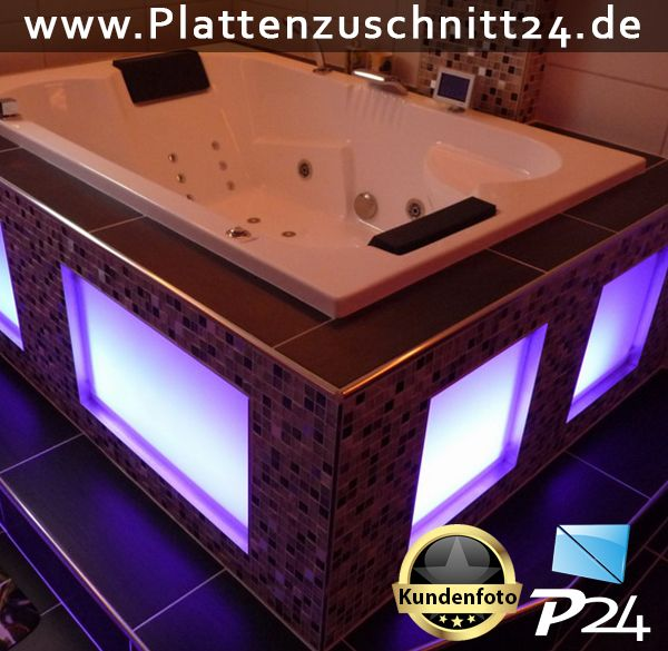 whirpoolverkleidung mit plexiglas anwendungsbeispiele plexiglas makrolon dibond pvc in. Black Bedroom Furniture Sets. Home Design Ideas