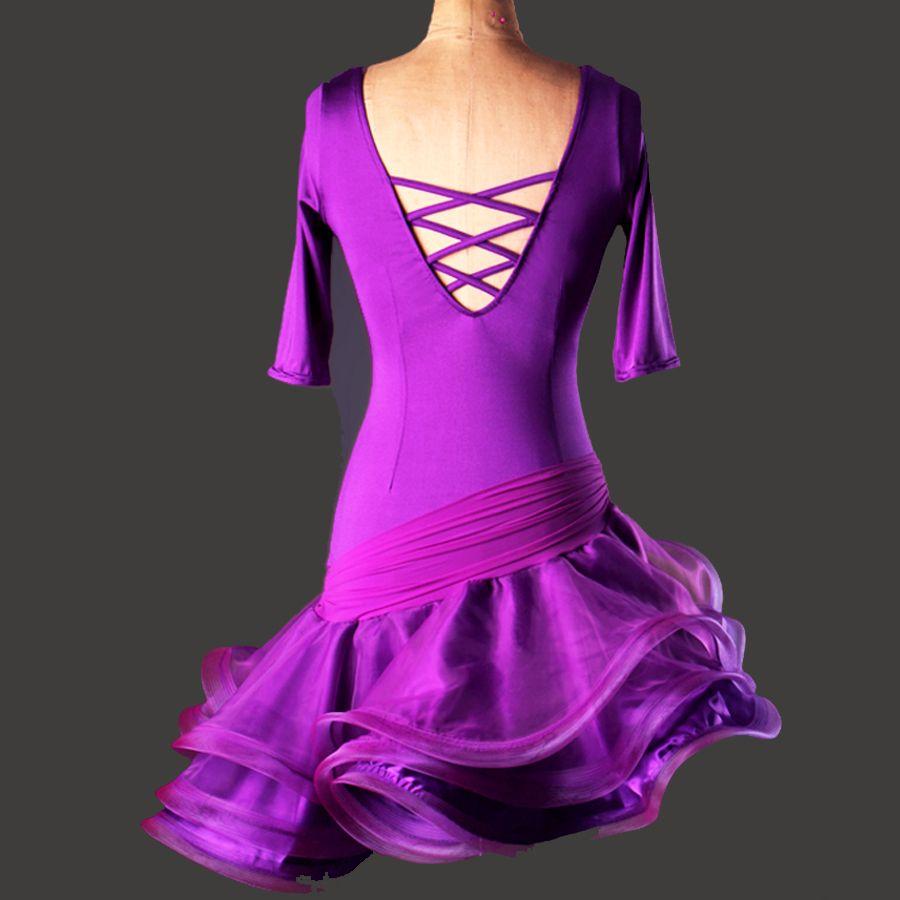 High End Latin Dance Dresses For Sale Fitness Clothes Samba/Ballroom ...