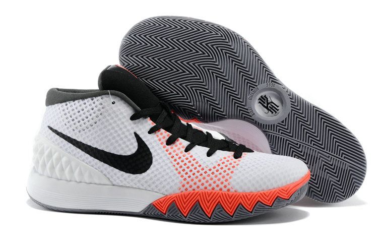 eee38c4a624f Really Cheap 2018 Kyrie 1 INFRARED White Black Dove Grey 705277 100 ...