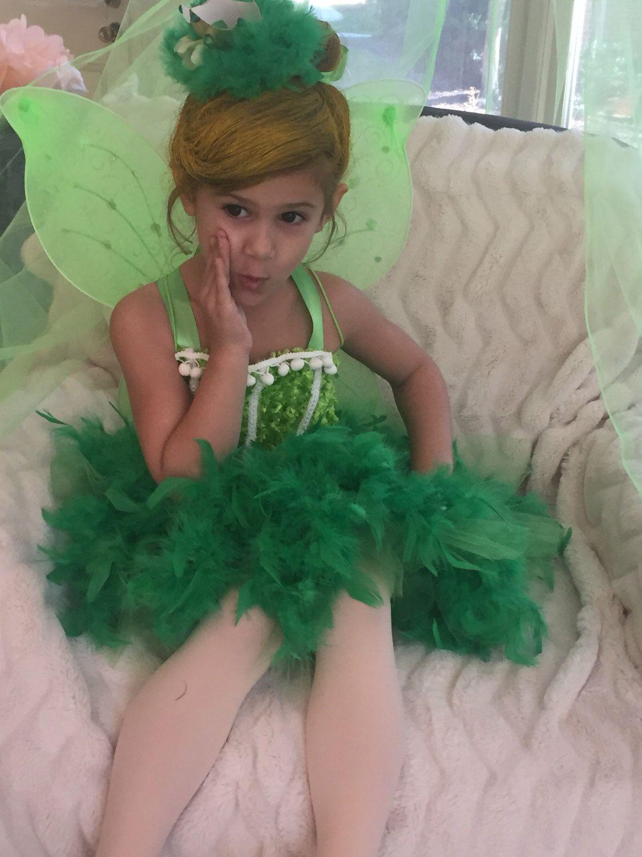 Tinkerbell Tutu Dress Tinkerbell Dress Tinkerbell Costume Green Feather Dress Green Fairy Dress Tinkerbell Birth Tinkerbell Dress Feather Tutu Fairy Dress [ 1500 x 1125 Pixel ]