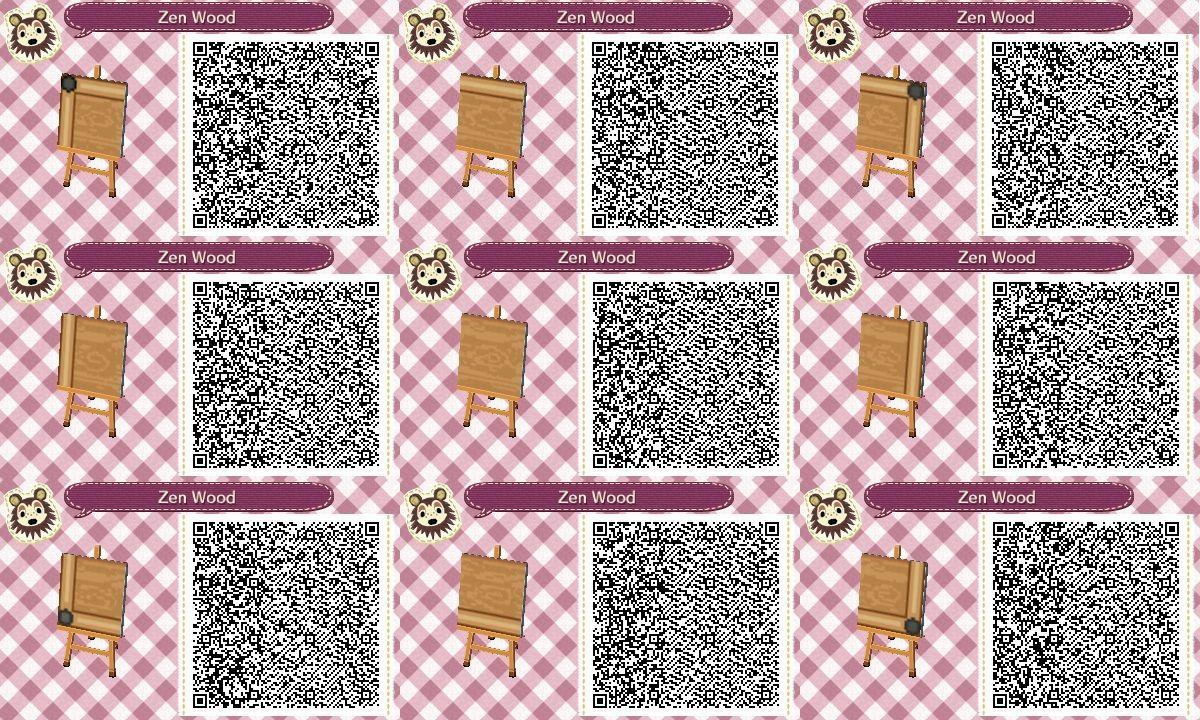 Bildergebnis Für Acnl Qr Code Wood Path Animal Crossing New Leaf