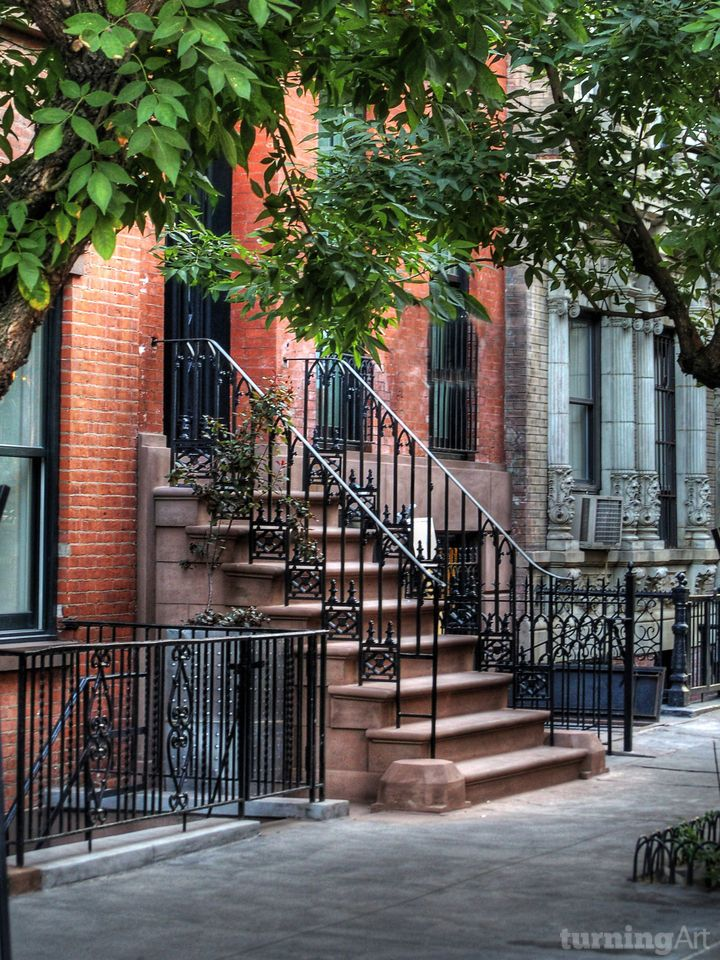 Greenwich Village New York City By Danny Anderson Turningart Best Places To Live Greenwich Village New York Brownstone