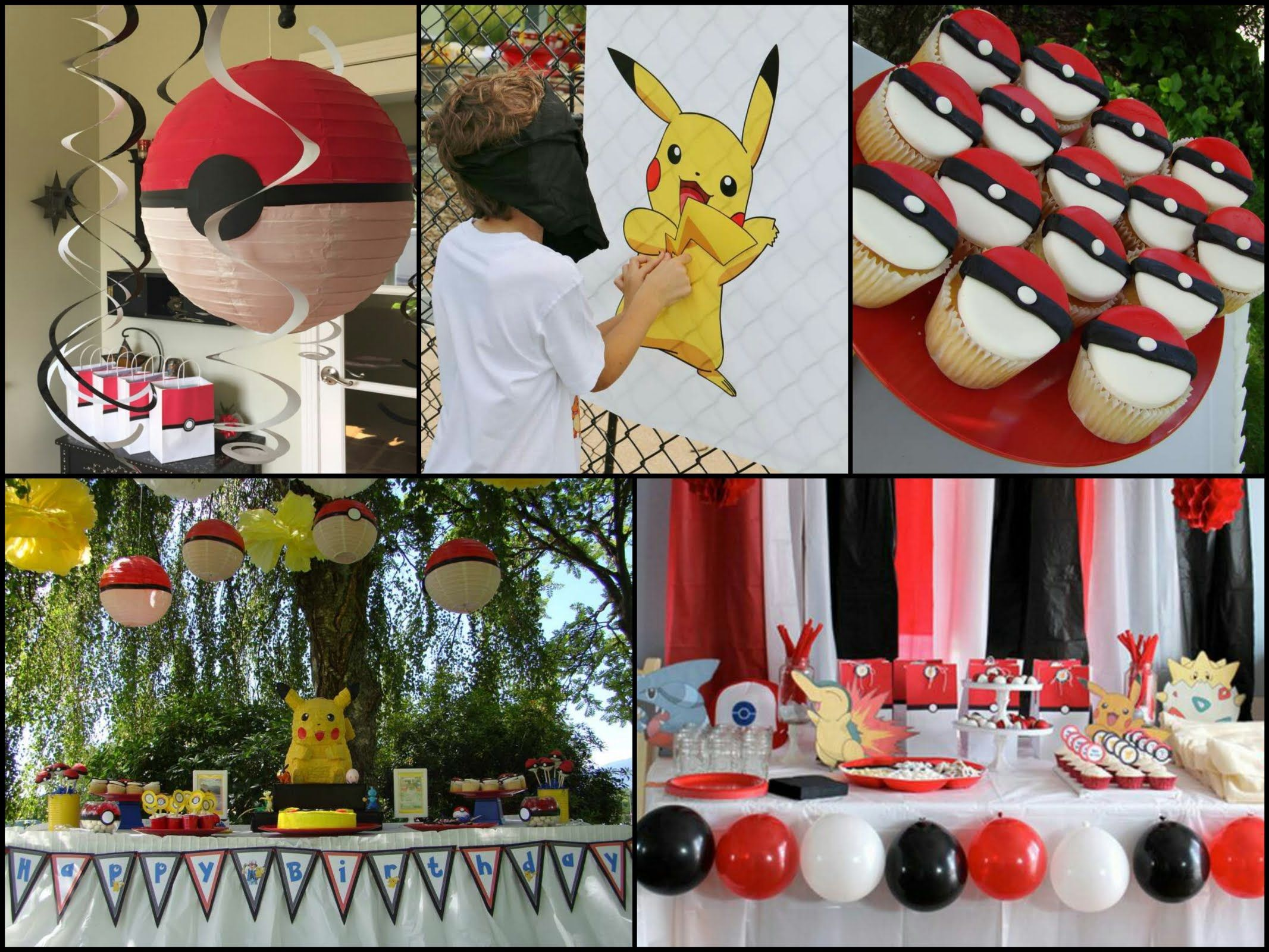DIY Pokemon Birthday Party Ideas Lets Party Pinterest