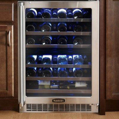 Marvel Professional Dual Zone Wine Refrigerator Williamssonoma