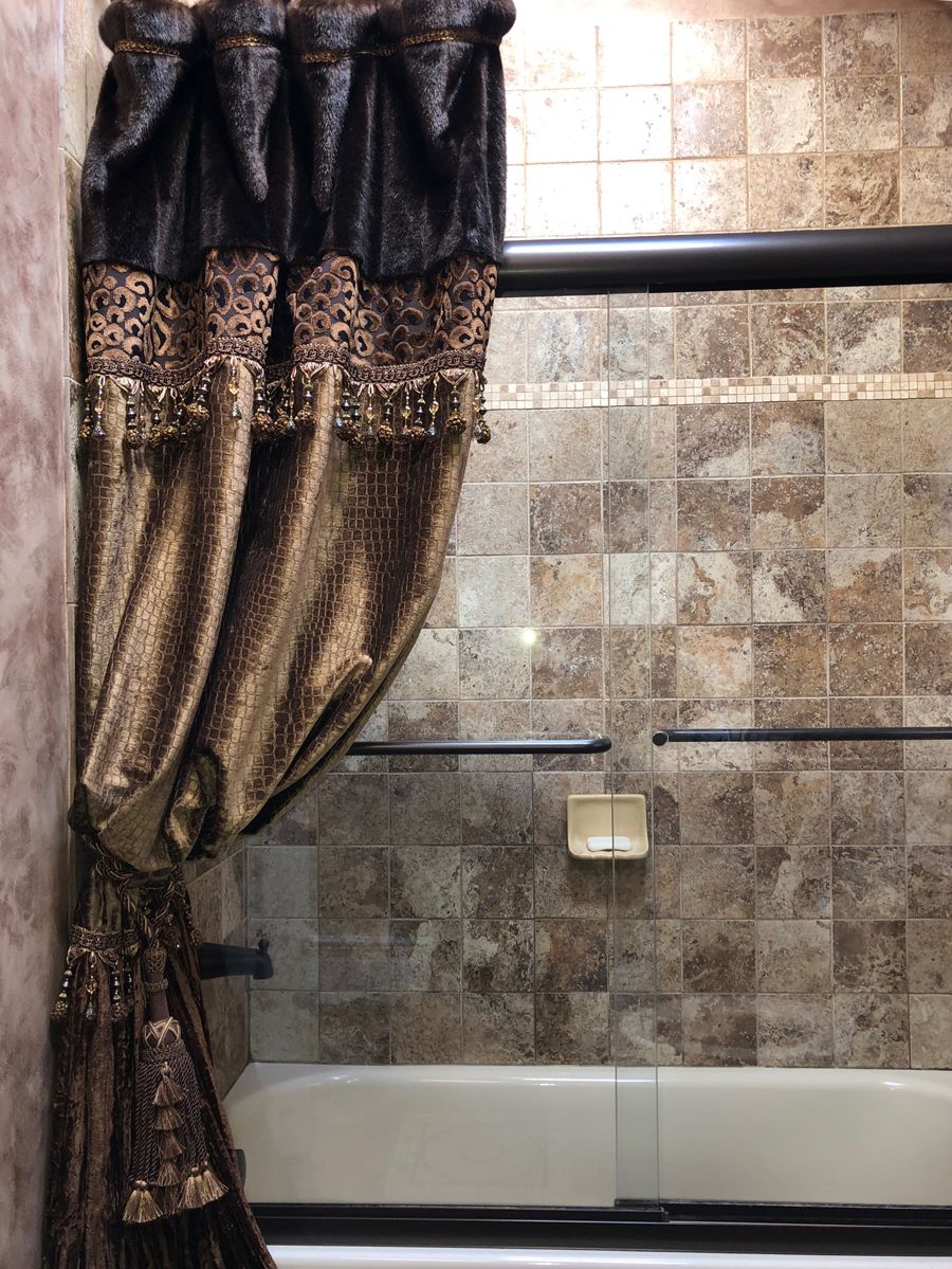 Old World Luxury Decorative Shower Curtains Shower Curtain Decor