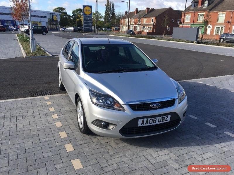 Car For Sale Ford Focus Zetec 1 6 Silver Petrol