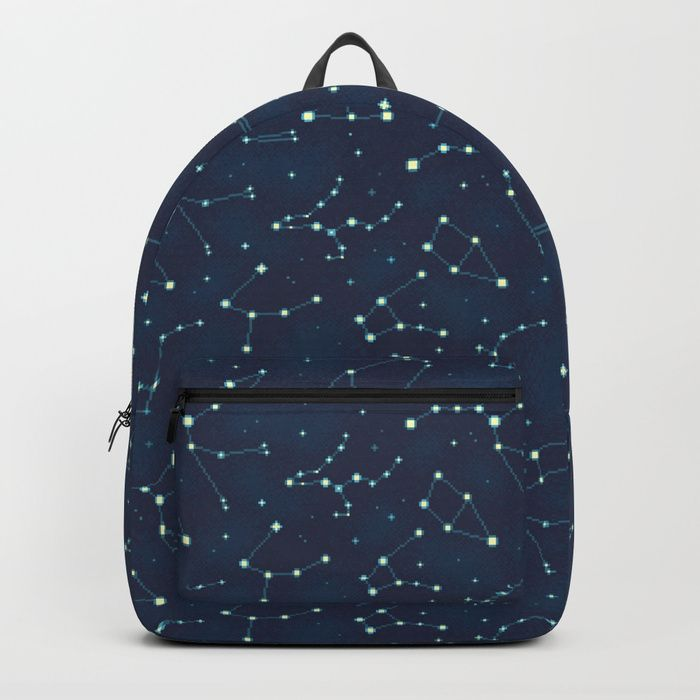 2fb4caff2eddd Constellation Pattern (A) Backpack | Back to school (in SPACE) in ...