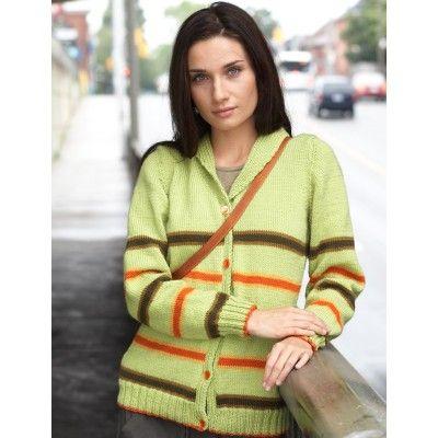 Shawl Collar Cardigan - Free Pattern - Patons -Knit | Knitting ...