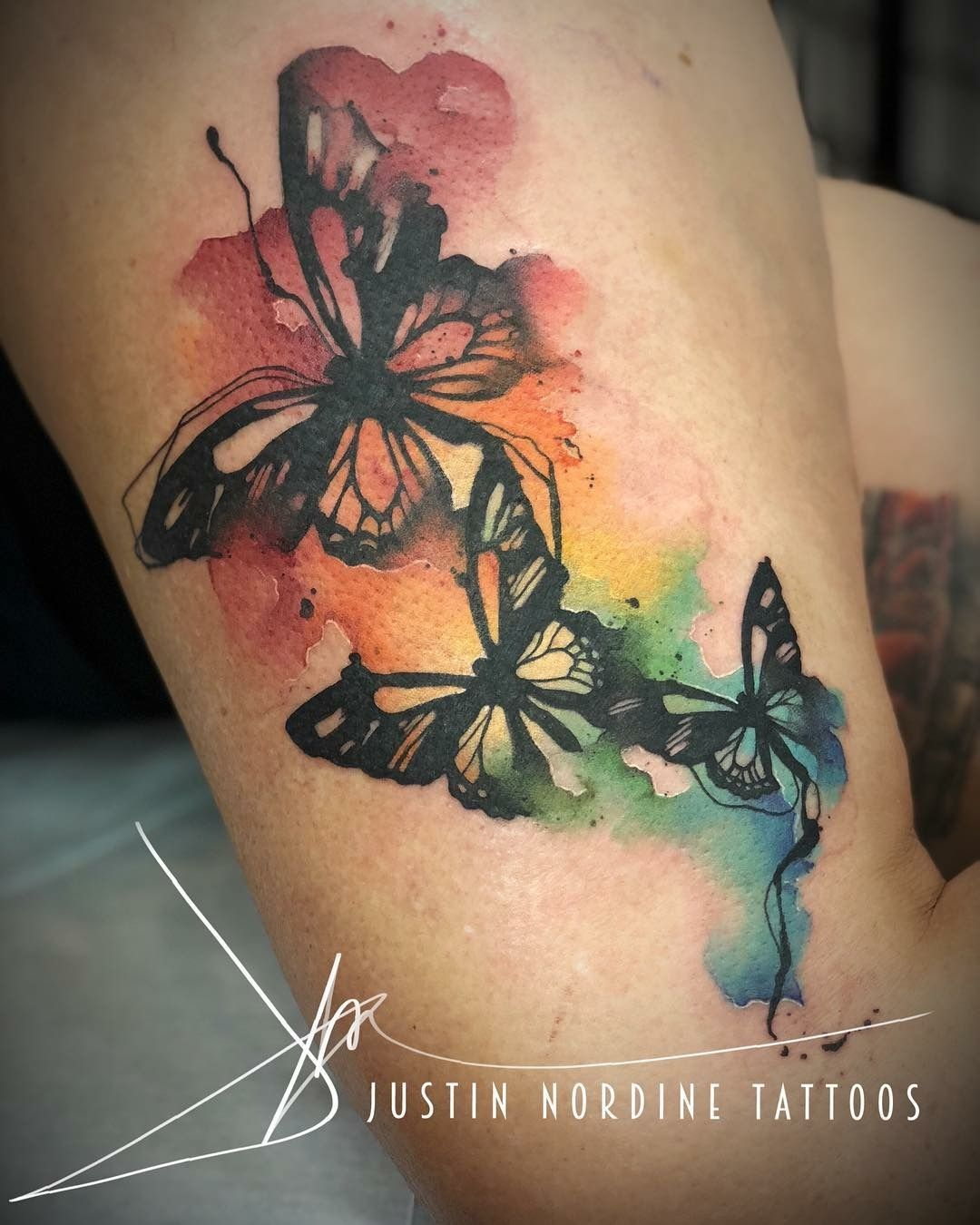 Butterflies Watercolor butterfly tattoo, Butterfly