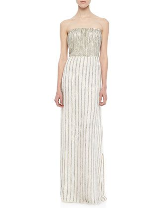 e7eb4d78248 Lovey Beaded Strapless Maxi Dress by Parker at Neiman Marcus ...