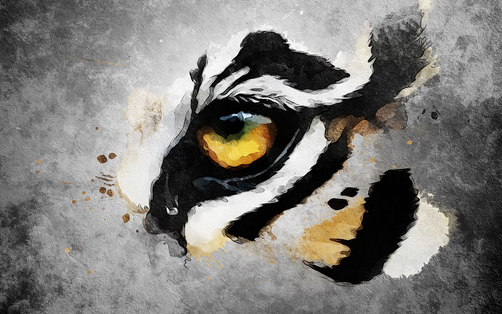 Hd Eye Art Images Tiger Eye By Dyceibg Watercolor Tiger Tiger