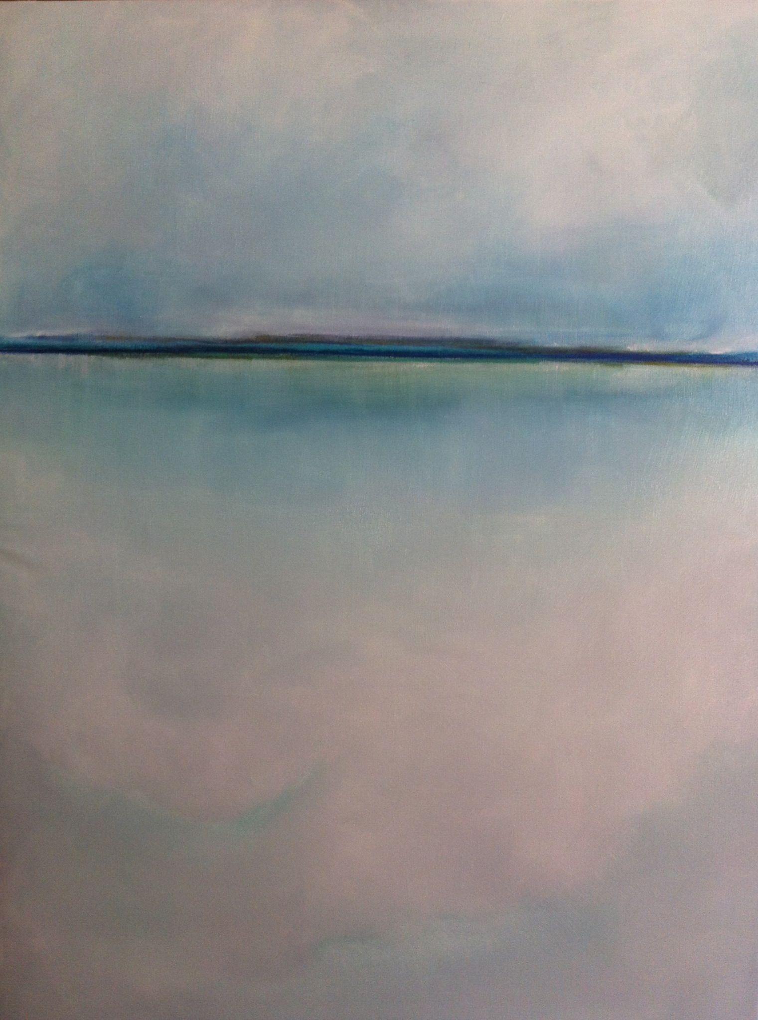 Gabriella Moussette - Art Abstrait/Huile sur toile . 2013                          130/97cm