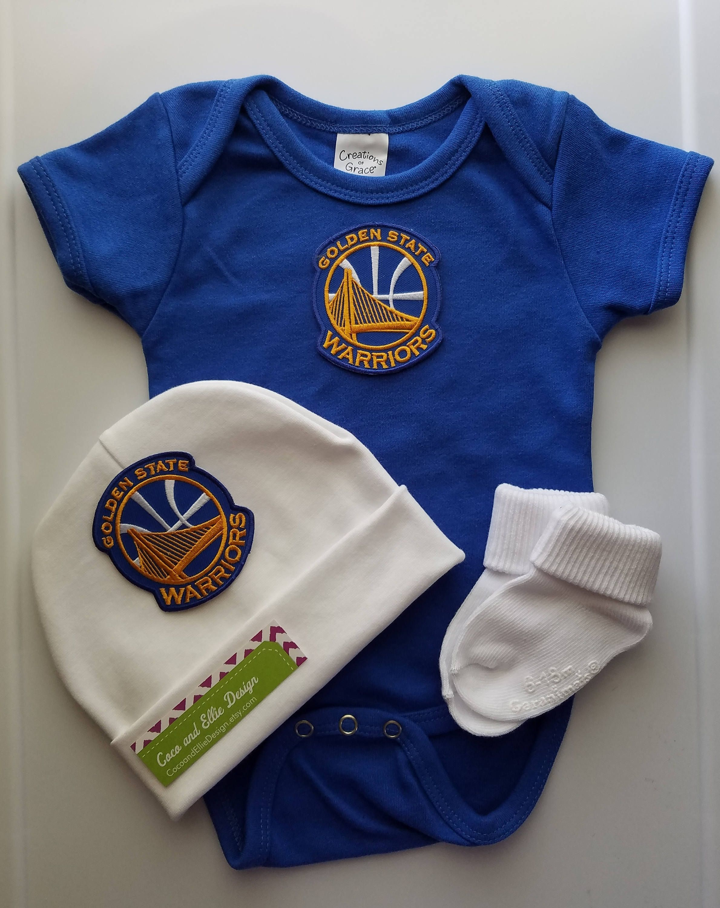 Golden state warriors baby outfit golden state baby golden state
