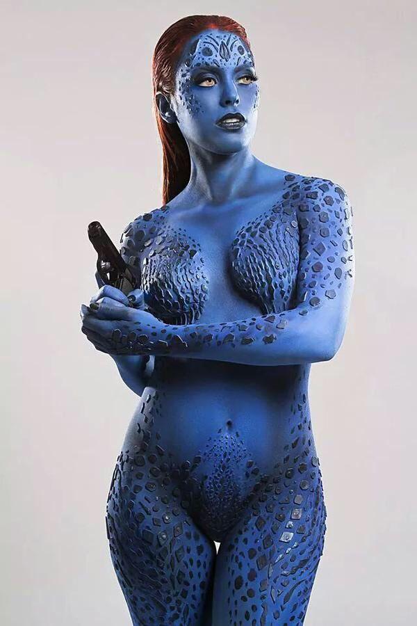 girls-ass-x-men-nude-body-paint-woman-stripped-this