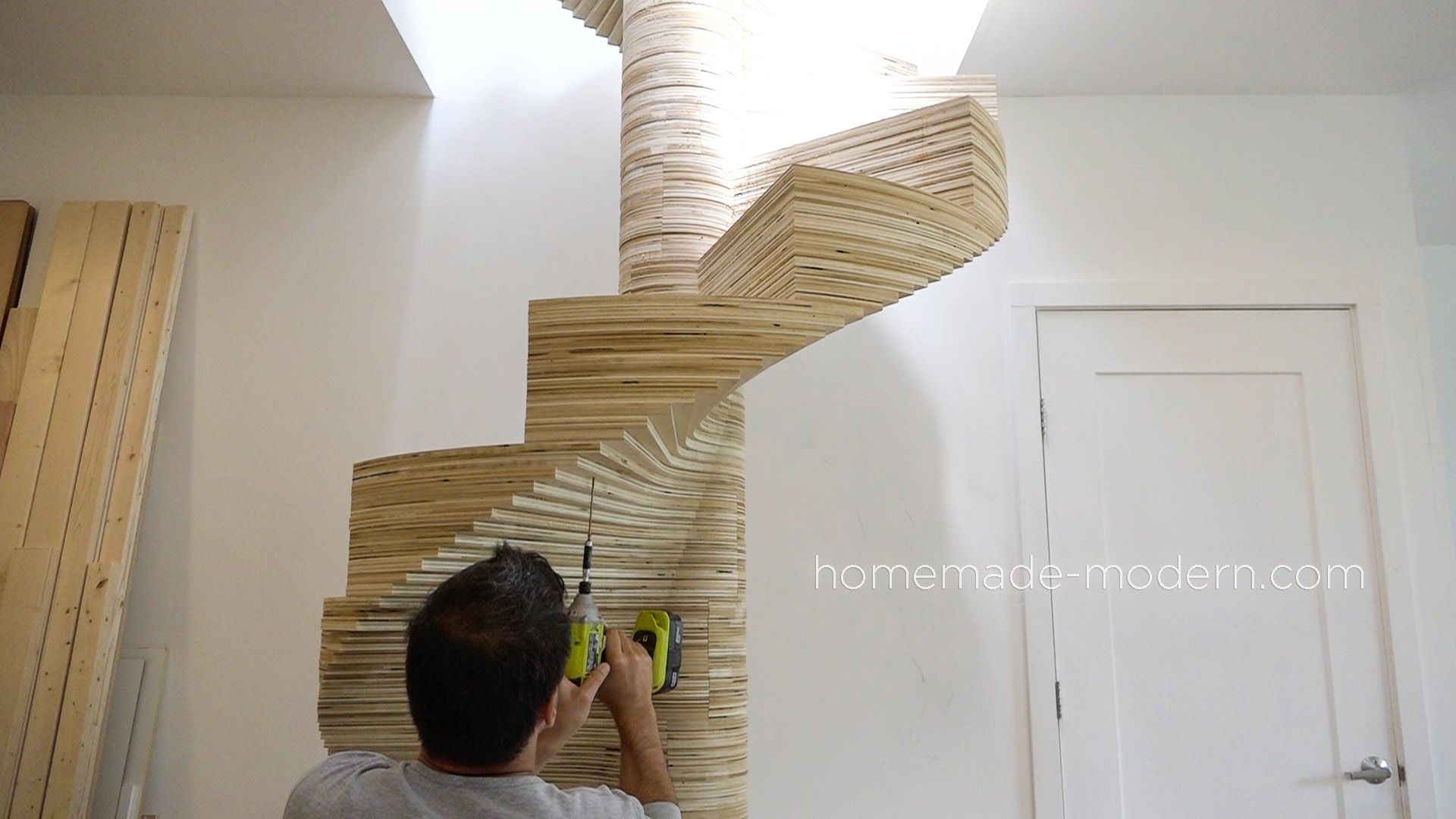 Best Homemade Modern Diy Ep99 Diy Cnc Spiral Staircase 400 x 300