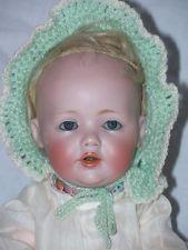 10 Inch Antique Kestner Hilda baby doll Fully marked Orig body Mohair wig